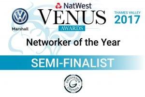 Venus Awards Networking of the Year Semi-Finalist 2017