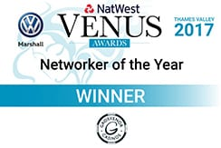 Venus Networker of the Year logo Links2leads